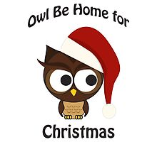 Owl be home for Christmas by Eggtooth