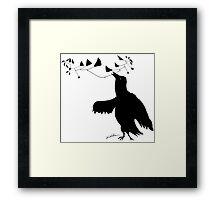 Smart Bird Framed Print
