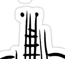 Guitar Head Sticker