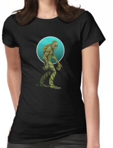 The Gill Man Womens Fitted T-Shirt