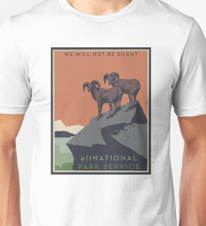 altNPS - We Will Not Be Silent Unisex T-Shirt