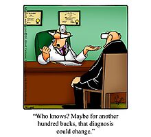 "Funny ""Spectickles"" Healthcare Cartoon Photographic Print"