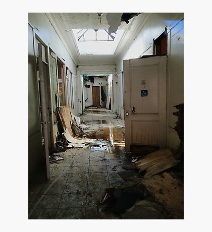 Abandoned Hall  Photographic Print