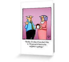 "Funny ""Spectickles"" Birthday Cartoon Greeting Card"