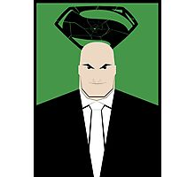 Lex Luthor: Shattered Super v2 Photographic Print