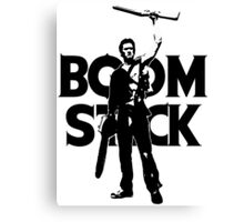 Evil Dead - Ash - Boomstick Canvas Print