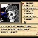 NES Grim Reaper Game Screen by zojoi