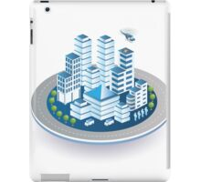 Isometric city iPad Case/Skin
