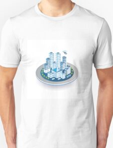 Isometric city Unisex T-Shirt