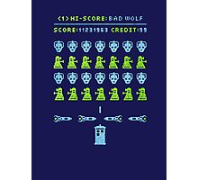 Dr Who: Space Invader Photographic Print