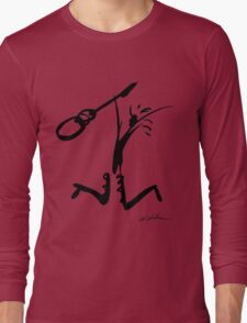 Guitar Jump Long Sleeve T-Shirt