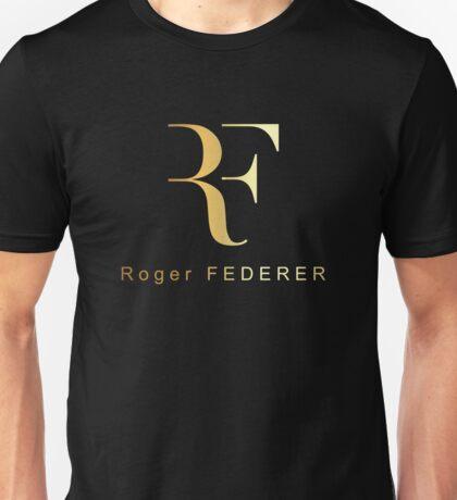 Roger Federer - Gold Design Unisex T-Shirt