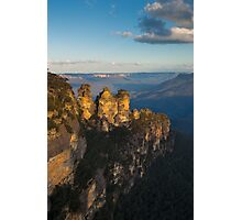 Three Sisters Sun Down Photographic Print