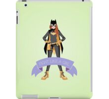 Fight Like a Girl: Batgirl iPad Case/Skin