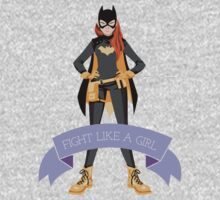Fight Like a Girl: Batgirl Kids Clothes
