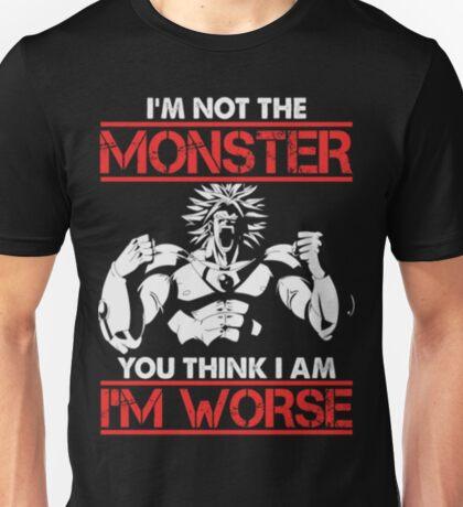 I M Worse-Broly-6 Unisex T-Shirt