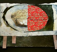 Heraldic Table Collage by donna malone
