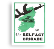 Belfast Brigade Canvas Print