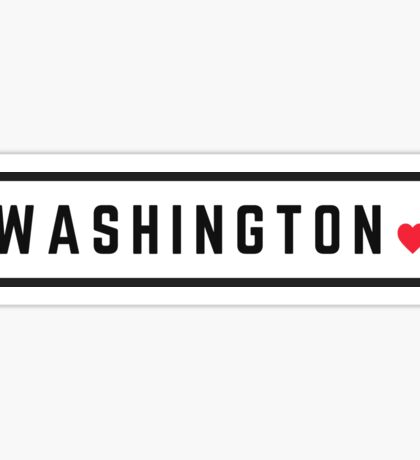 Washington #2 Sticker