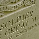 Manchester Soldier, Thiepval memorial, France by Norman Repacholi