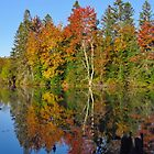 Autumn on the Flambeau by lorilee