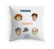 Looks like an X-file Throw Pillow