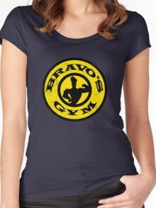 Bravo's Gym Women's Fitted Scoop T-Shirt