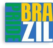 BRAZIL-PRIDE Canvas Print