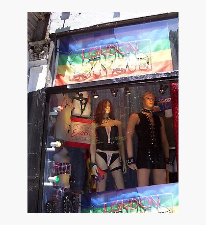 S&M Window-Greenwich Village, NYC, NY Photographic Print