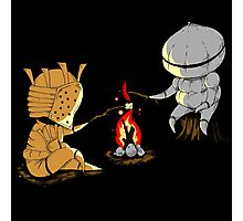 Bonfire Buddies - Dark Souls Photographic Print
