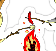 Bonfire Buddies - Dark Souls Sticker