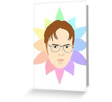 Dwight Schrute Greeting Card