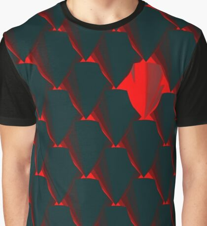DRAGONHEART - Scaled armor pattern Graphic T-Shirt