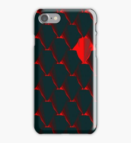 DRAGONHEART - Scaled armor pattern iPhone Case/Skin