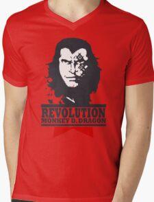 Monkey D. Dragon X Che 2.0 Mens V-Neck T-Shirt