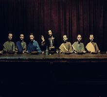 The last supper  by DFLC Prints