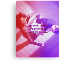 Mer and Cristina - Dancing it out Canvas Print