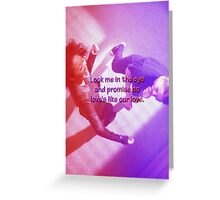 Mer and Cristina - Dancing it out Greeting Card
