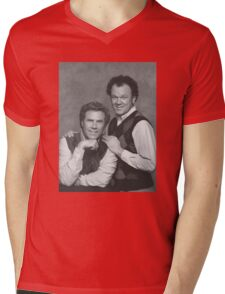 STEP BROTHERS Mens V-Neck T-Shirt