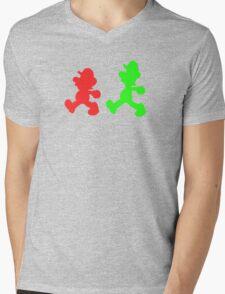 Brothers Mens V-Neck T-Shirt