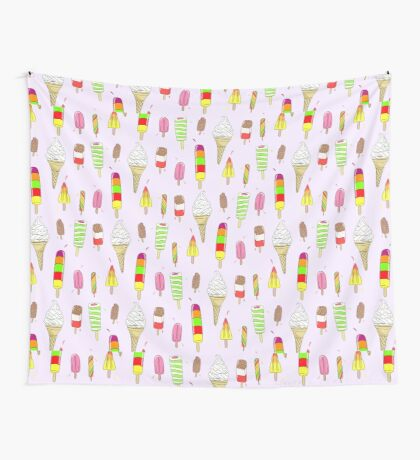 Ice Lolly Heaven Wall Tapestry