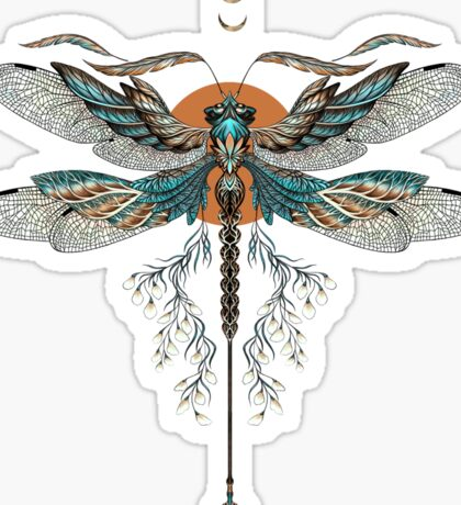 Dragon Fly Tattoo Sticker