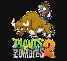 bull riding zombie Unisex T-Shirt