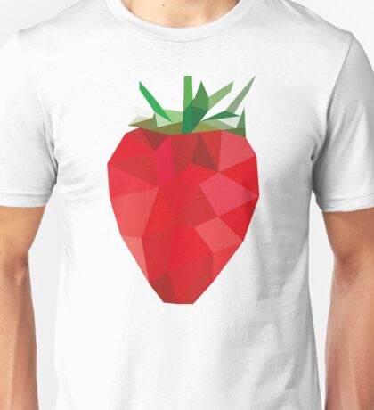 Poly Strawberry Unisex T-Shirt