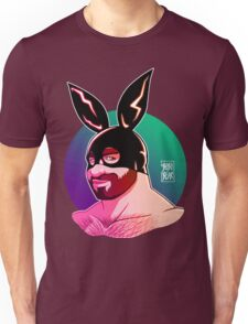 ADAM LIKES BUNNIES - CLUB VERSION Unisex T-Shirt