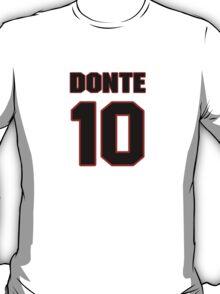 NFL Player Donte Moncrief ten 10 T-Shirt
