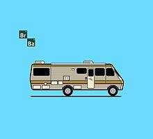 Breaking Bad Van by Zack Kalimero