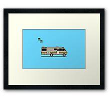 Breaking Bad Van Framed Print