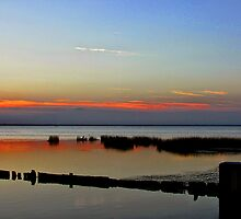 Albemarle Sound at the Outer Banks by Bill Shuman