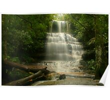 Tranquility at Junction Falls Poster